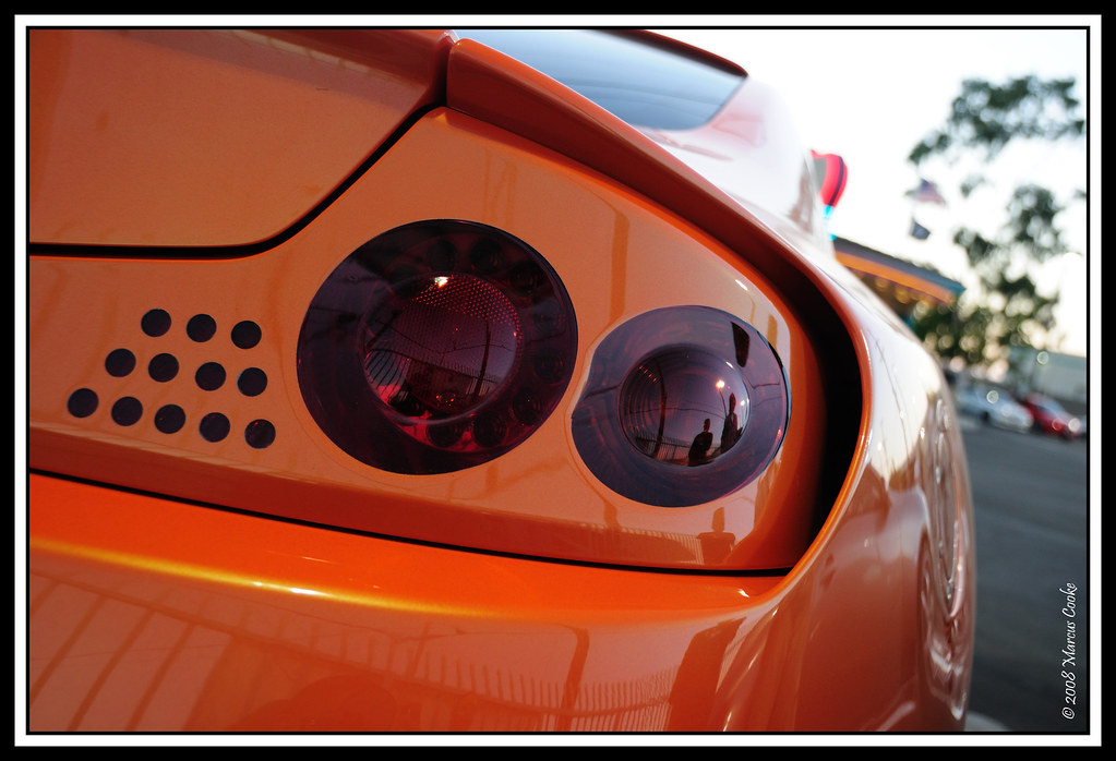 Custom Widebody Supercharged G35 Coupe Tail Light