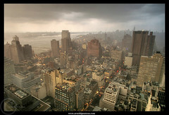 Gotham City and the Storm | by Arnold Pouteau's