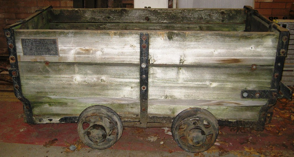 "Free Car History Report >> Coal mine car--""before""! 