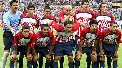 chivas guadalajara team arpertura 2006 11th championship