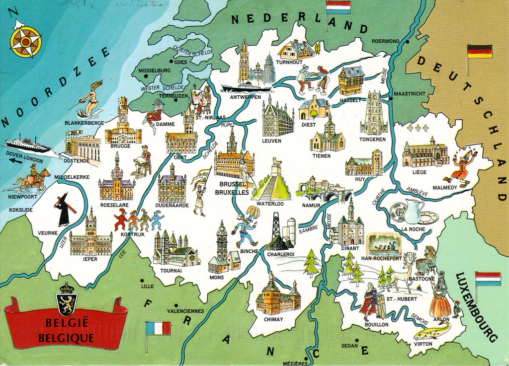 Top Tourist Attraction In Belgium Best places to travel in europe