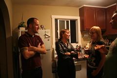 Neighbor, Sarah, Claire, Mark