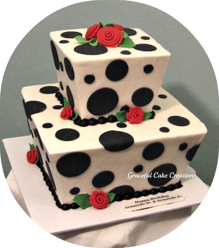 Large Cream Cake
