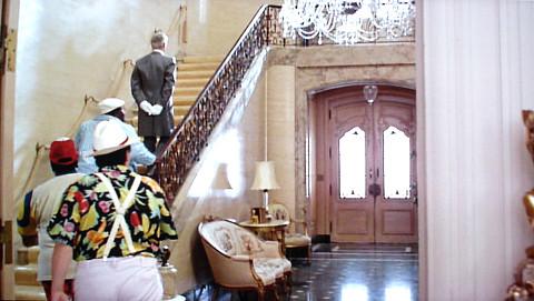 Beverly Hillbillies Mansion Inside Foyer Of The Real