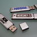 Nestle Hershey's and Jack Links USB Drives