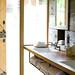 Shed {rustic modern bathroom}