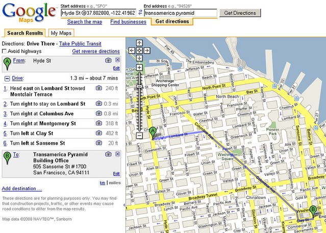 Google Maps Street View Driving Directions | Tamar Weinberg | Flickr