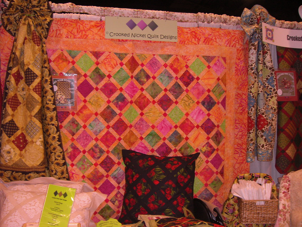 Crooked Nickel Quilt Designs | Booth at International ...