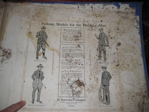 Turn of the century mail order or salesman sample antique clothing catalog | by shannonpatrick17