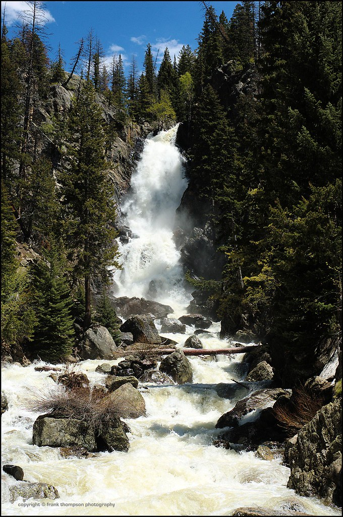 Fish Creek Falls - Steamboat Springs, Colorado