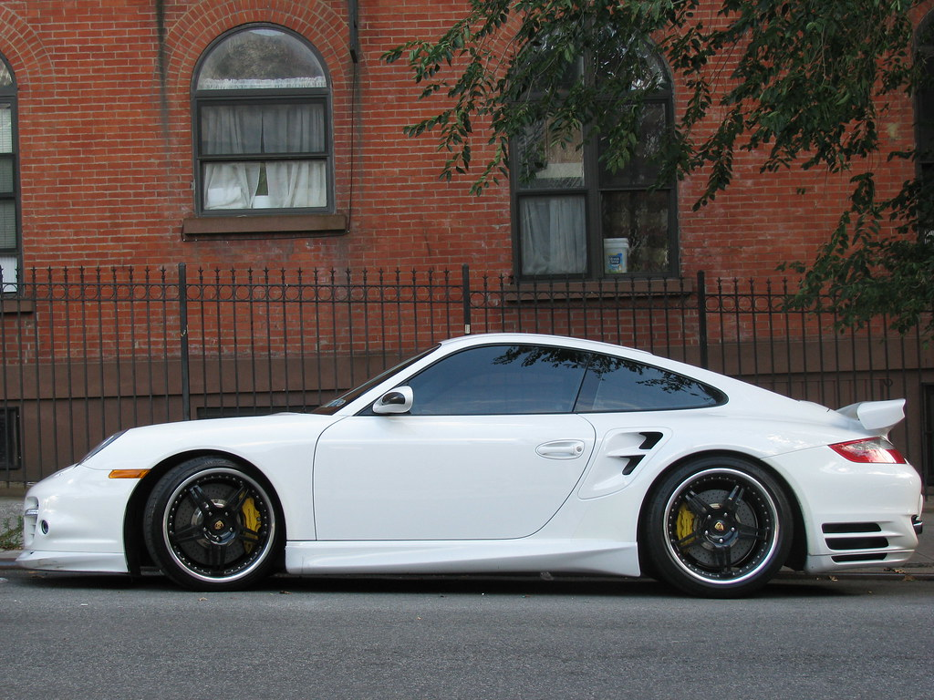 Techart Tuned Porsche 911 Turbo Side View This Amazing