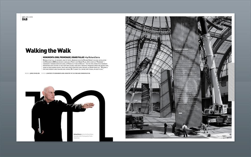 Modern Design Magazine Richard Serra Magazine Design