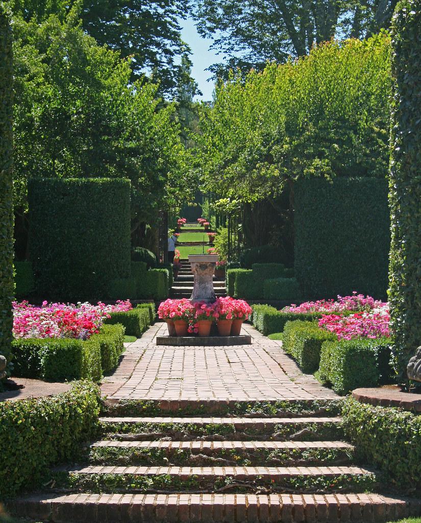 Filoli Gardens Distant Vista Perfect Symmetry Captured I Flickr