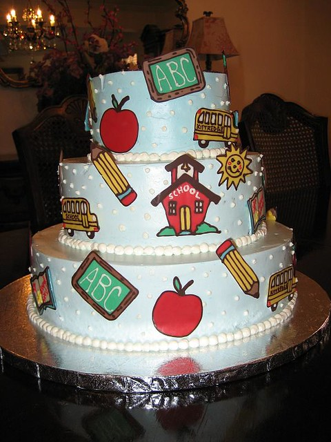 Teacher Appreciation Cake Ii A Cake Made In Celebration