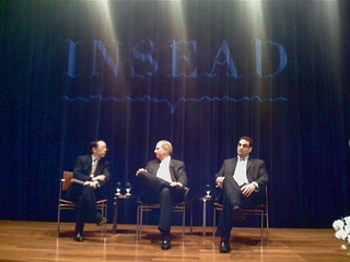 INSEAD alumnus and Deans | by vantan