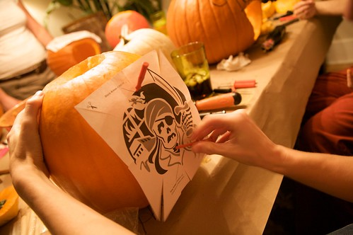 Pumpkin carving | by indigoprime