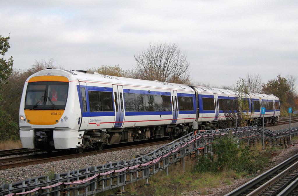 Chiltern Railways Class 168/1 unit at Ruislip Gardens | Flickr