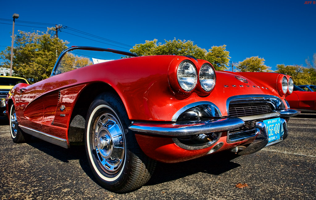 Little Red C1 Corvette A First Generation Chevrolet