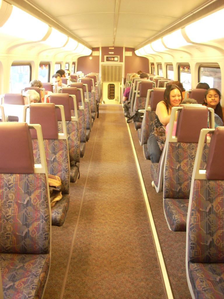interior of metrolink bombardier bilevel car this is the s flickr. Black Bedroom Furniture Sets. Home Design Ideas