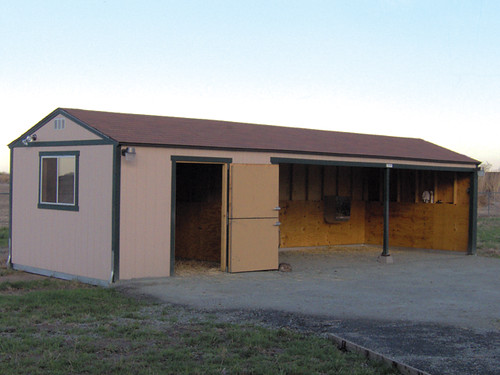 Premier Tuff Shed Carport : Premier tall ranch loafing shed