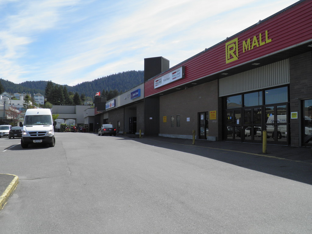 how to get from prince rupert airport to prince rupert