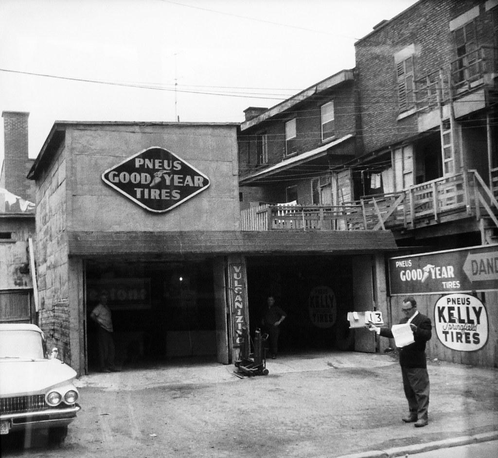 Montr al 1963 garage dandurand archives ville de for Garage du faubourg le quesnoy