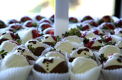 Chocolate covered strawberries | by sirijonesphoto