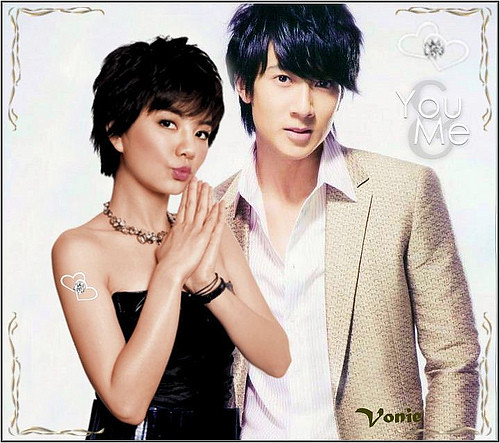 ella chen and wu chun they are cute together but i