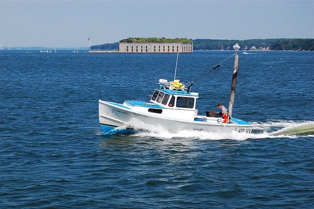 Fishing boat in portland maine flickr photo sharing for Portland maine fishing