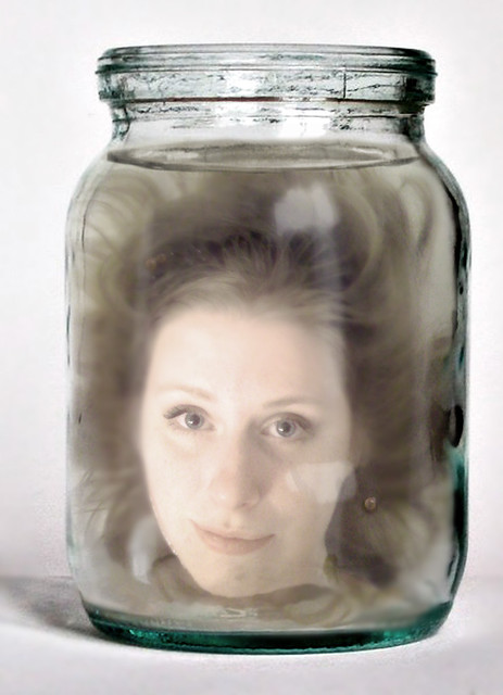 My head in a jar self portrait shannon flickr for Heads in jar