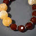 Calcite, Carnelian, and Sterling Silver