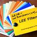LEE Filters Sampler Book of Gels and Filters