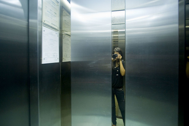 Haunted elevator reminds me some old ghost story from for 1 story elevator
