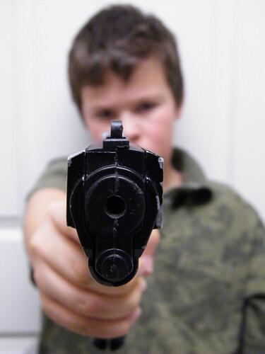 Bebe Gun Hold Up 2 | My nephew and I playing around ...