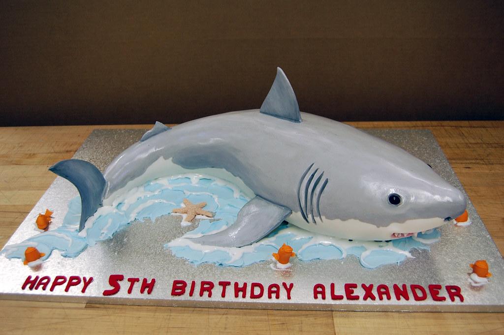 Easy Homemade Shark Cake