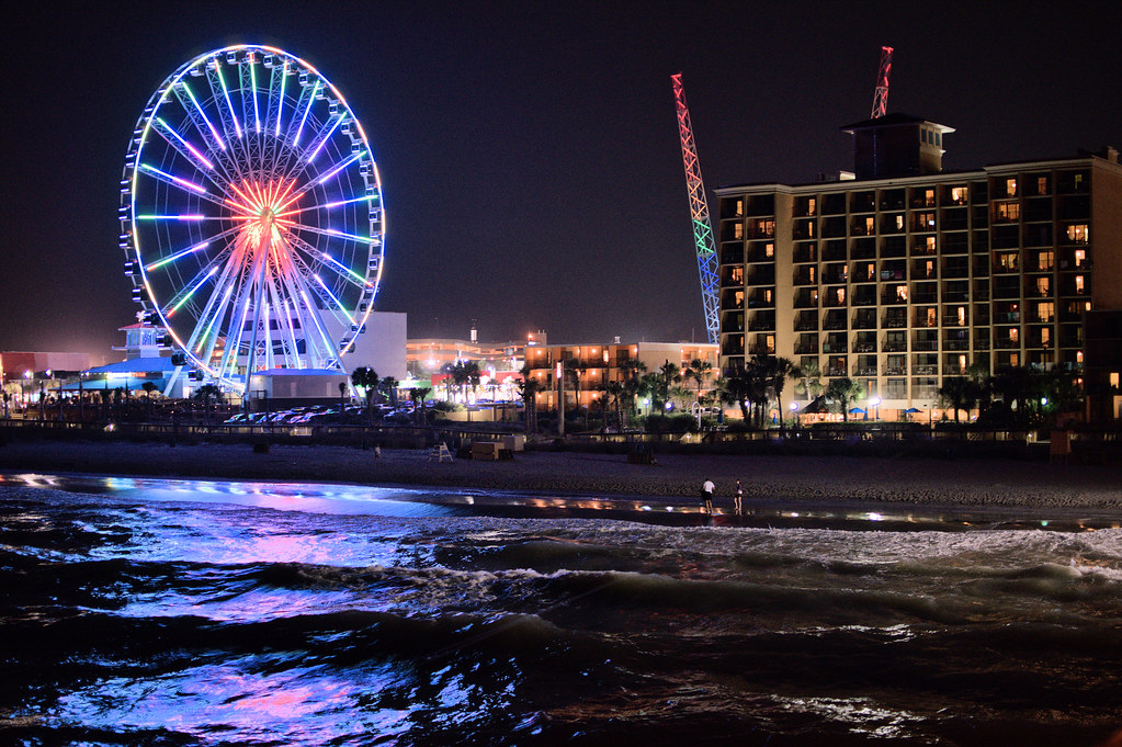 Pictures Of The New Boardwalk In Myrtle Beach Sc
