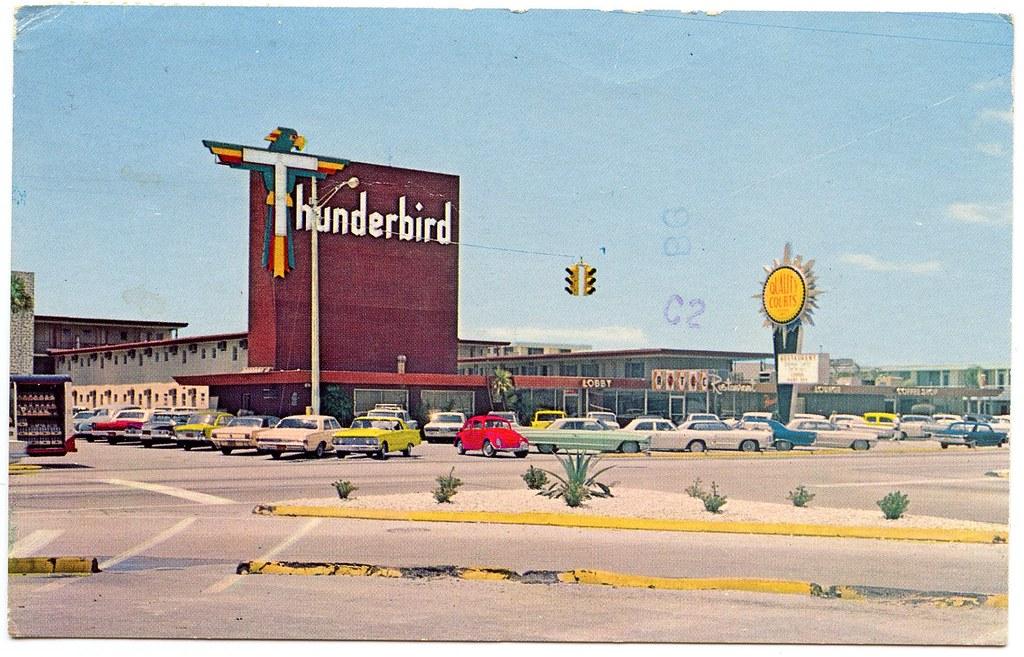 thunderbird motel built 1958 thunderbird motel. Black Bedroom Furniture Sets. Home Design Ideas