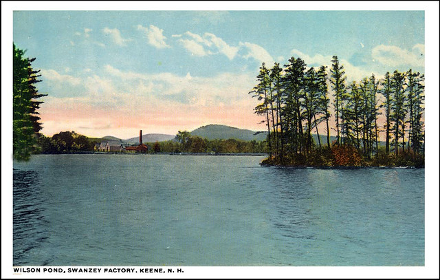 wilson pond and swanzey factory  keene nh