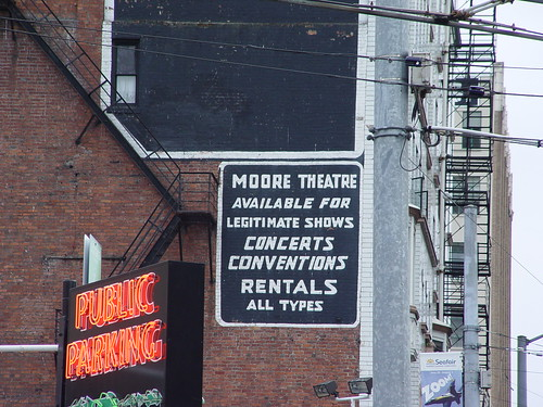 Moore Theater | by Fuzzy Gerdes