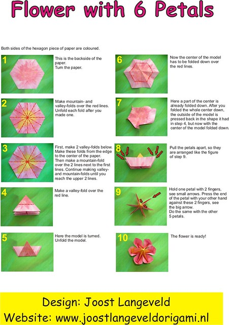Origami flower diagrams diagrams for folding an origami flickr origami flower diagrams by joostlangeveld mightylinksfo