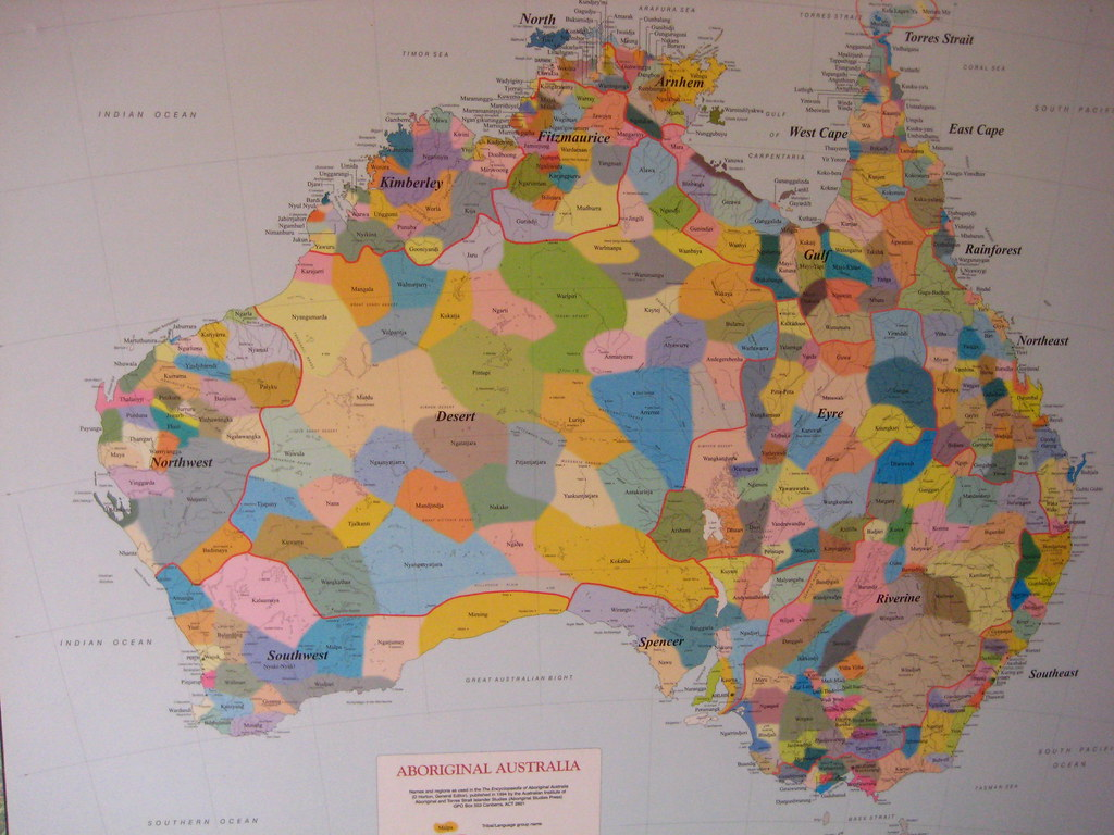 Map Of Australia And Neighbouring Islands