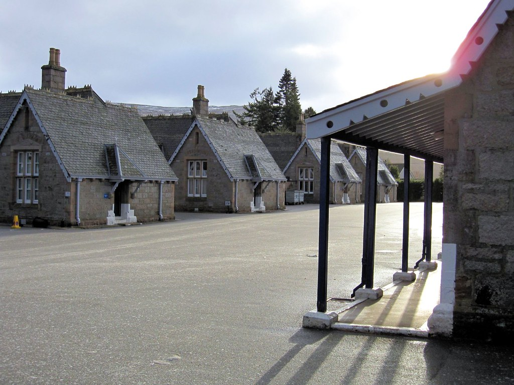 Victoria Barracks Ballater Royal Deeside Cairngorms Nat