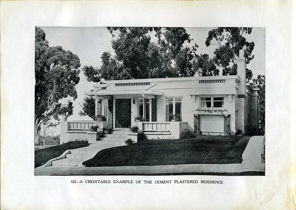 Jud Yoho Bungalow Plan 322 California Style