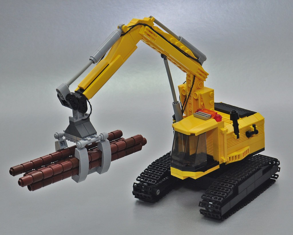 Forestry Excavator Entry For My Iron Builder With Lego