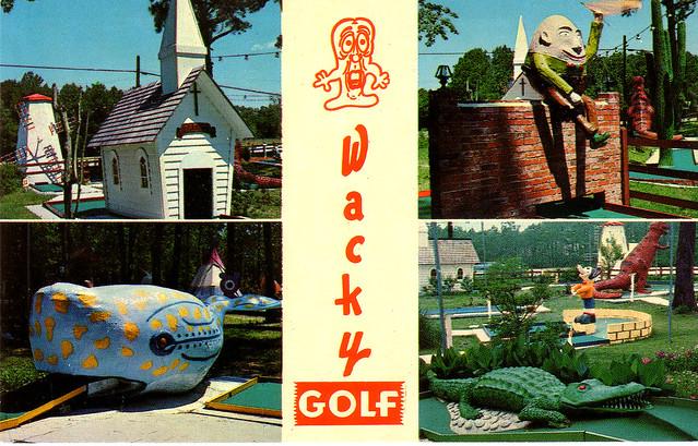 Myrtle Beach S Wacky Golf
