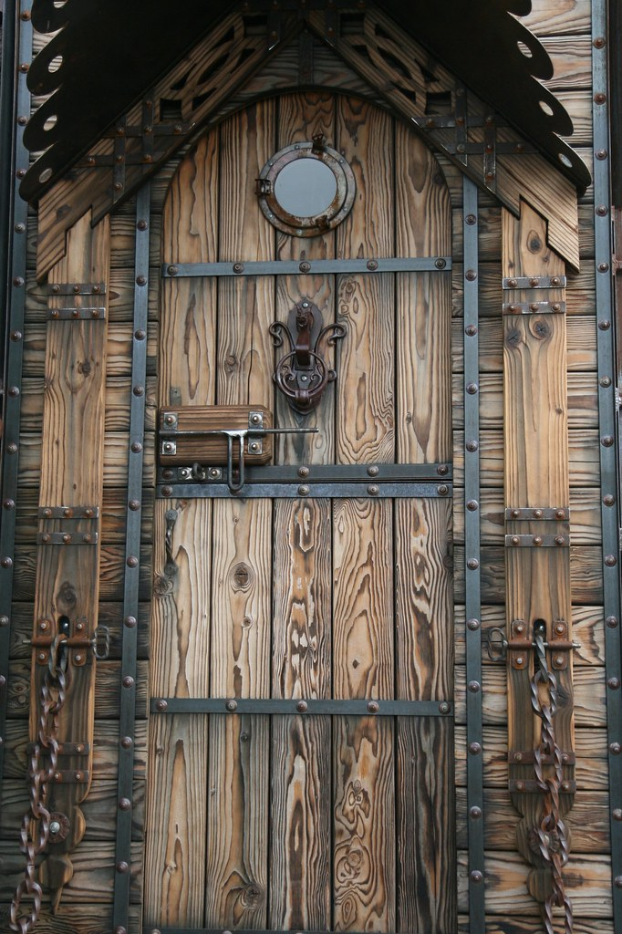 Celtic Door Nicole Lee Flickr