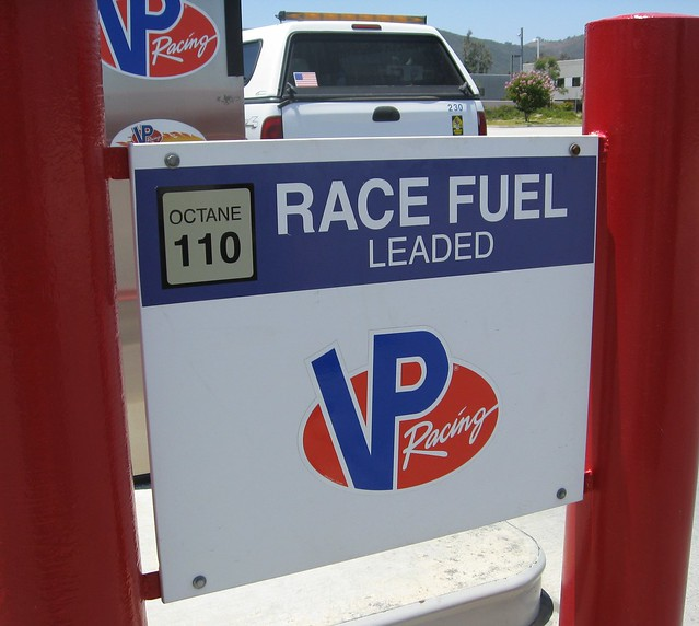 leaded race fuel 110 octane flickr photo sharing. Black Bedroom Furniture Sets. Home Design Ideas