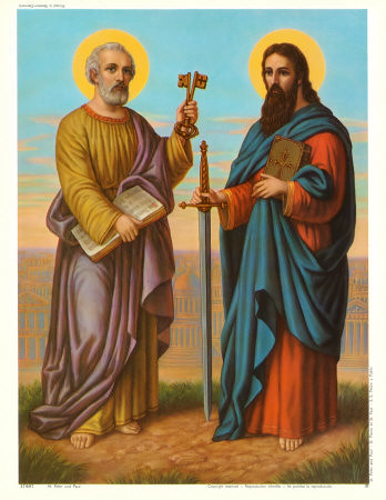 Image result for SAINT PETER  AND SAINT PAUL APOSTLE