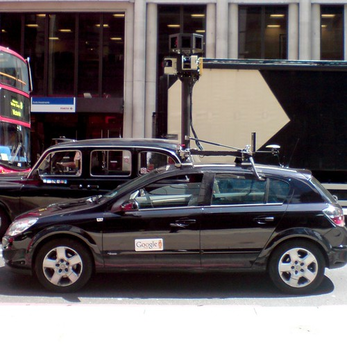 Google car spotted on Bishopsgate | by davehodg