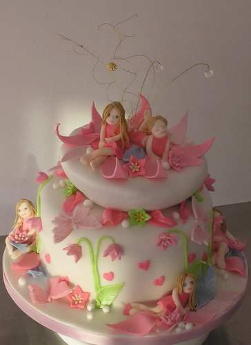 Fairy Tale Birthday Party Cake